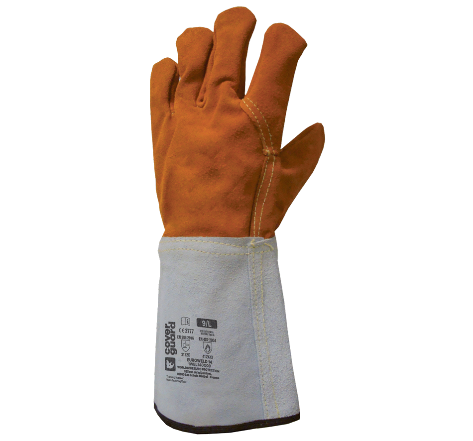 Dipped seamless gloves